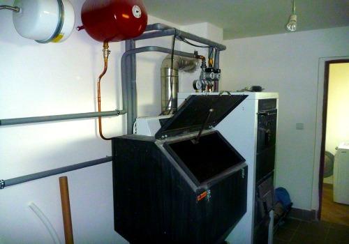 Domovní elektroinstalace - kotelna
