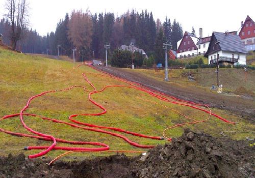 Ski areál Kopřivná - vlek